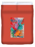 Freddy Fish And Friends Duvet Cover