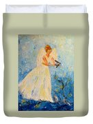 Free At Last, Angel Duvet Cover