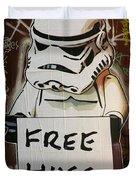 Free Hugs Duvet Cover