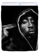 Free Will - 2 Pac Duvet Cover