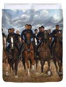 Freedom Riders Duvet Cover