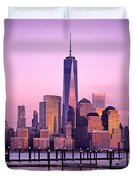 Freedom Tower Nyc Duvet Cover