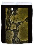 Freeway Pole Art Sailor-pole Art Photo Series Black Gold Duvet Cover