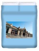 Fremantle Train Station Duvet Cover