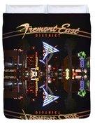 Fremont East 1 Duvet Cover
