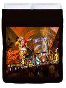 Fremont Street Experience Lights Duvet Cover