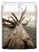 French Beach Duvet Cover
