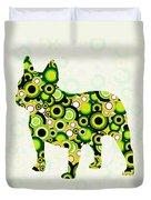 French Bulldog - Animal Art Duvet Cover