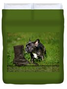 French Bulldogs Duvet Cover by Heike Hultsch