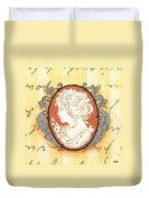 French Cameo 2 Duvet Cover
