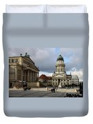 French Cathedral And Concert Hall - Berlin  Duvet Cover