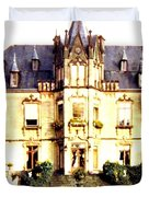 French Chateau 1955 Duvet Cover