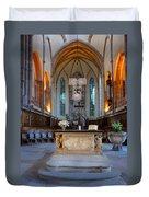 French Church Alter Duvet Cover