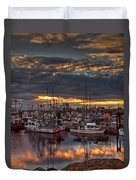 French Creek Sunrise Duvet Cover