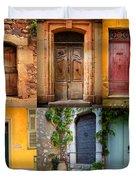 French Doors Duvet Cover