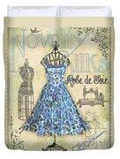 French Dress Shop-b Duvet Cover