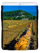 French Farm Near Lacoste Duvet Cover