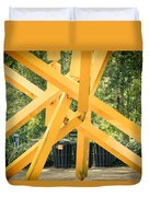 French Fries Duvet Cover by Joan Carroll