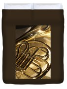 French Horn I Duvet Cover