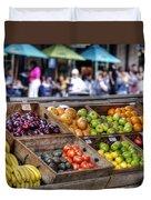 French Market Duvet Cover