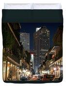 French Quarter New Orleans Louisiana Duvet Cover