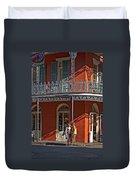 French Quarter Tete A Tete Duvet Cover