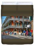 French Quarter Wandering 3 Duvet Cover
