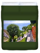 French Riviera Duvet Cover