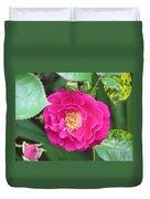 French Rose Duvet Cover
