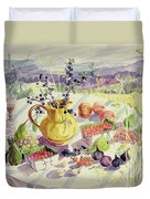 French Table Duvet Cover by Elizabeth Jane Lloyd