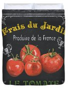 French Vegetables 1 Duvet Cover