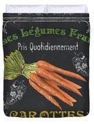 French Vegetables 4 Duvet Cover