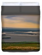 Frenchman Bay And The Porcupine Islands Duvet Cover