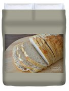 Fresh Baked Sourdough Duvet Cover by Mary Deal