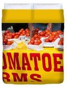 Cedar Park Texas Fresh Tomatoes Duvet Cover