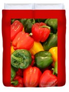 Fresh From The Market - Sweet Peper Mix Duvet Cover