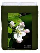 Fresh Fruit Blossoms Duvet Cover