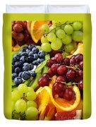 Fresh Fruits Duvet Cover by Elena Elisseeva