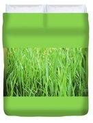 Fresh Grass Duvet Cover