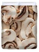 Fresh Mushrooms Duvet Cover
