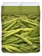 Fresh Picked Beans Duvet Cover