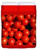 Fresh Ripe Red Tomatoes Duvet Cover