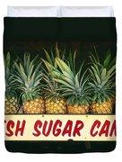 Fresh Sugar Cane Duvet Cover