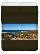 Fresh Water Lagoon At Playa La Poza Duvet Cover