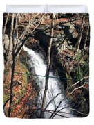 Fresh Water Streams Around Poconos Pa America Usa  Duvet Cover