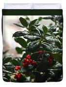Fresh Winter Rain Duvet Cover