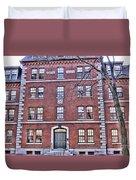 Freshman Dormitory-harvard University V2 Duvet Cover