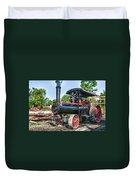 Frick Steam Tractor Duvet Cover