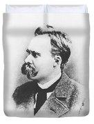 Friedrich Wilhelm Nietzsche In 1883 Duvet Cover