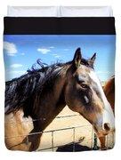 Working Horse Duvet Cover